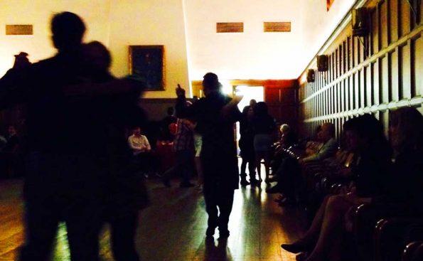 Tango dancing at Caltech (Photo - Melissa Michelson)