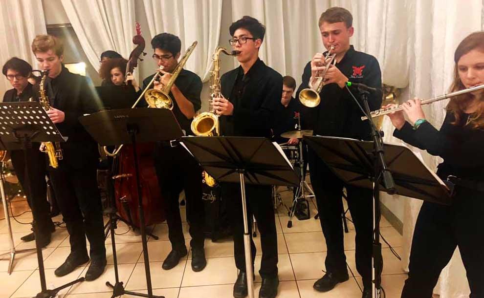 Marshall Fundamental Jazz Band (Photo - Facebook)