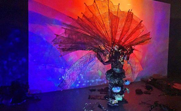 Sha Sha Higby performance at ArtCenter (Photo - Stephen Nowlin)